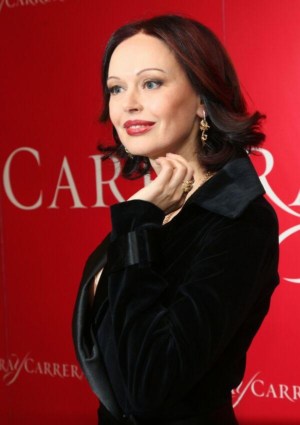 Актриса Ирина Безрукова. Архив