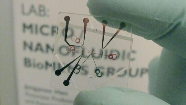 Микропотоковое устройство для опреснения воды