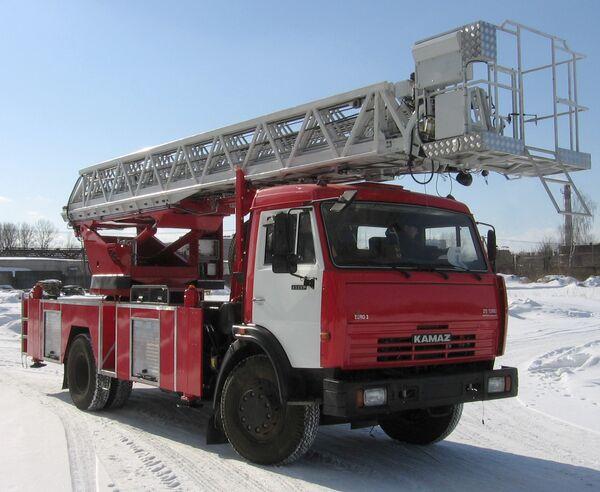 Пожарный автомобиль новой модели