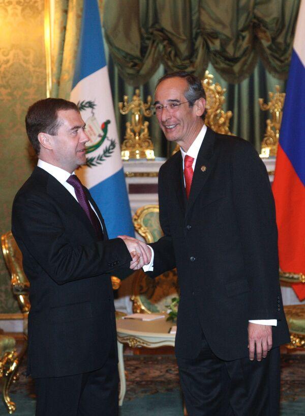 Российско-гватемальские переговоры проходят в Кремле
