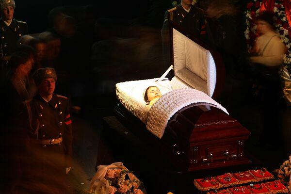 Прощание с Валентиной Толкуновой