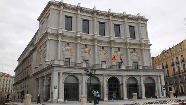 Королевский театр, Мадрид. Архив