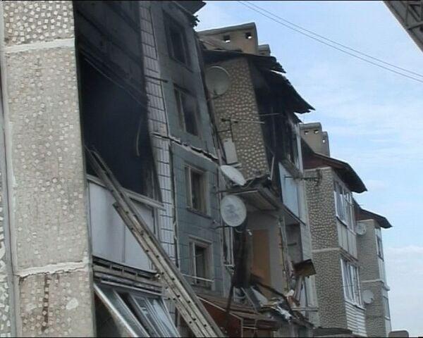 Пожар в Павловской Слободе. Видео с места происшествия