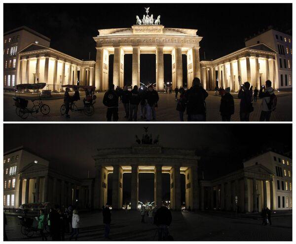 Акция Час Земли прошла в Берлине