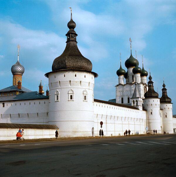 Церковь Николы Рубленого  Ярославского Кремля. Архив