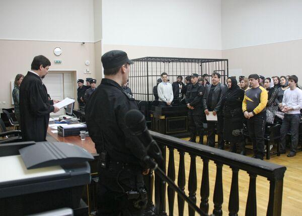 Оглашение приговора по уголовному делу о драке в Кондопога в 2006 году в ВС Карелии. Архив