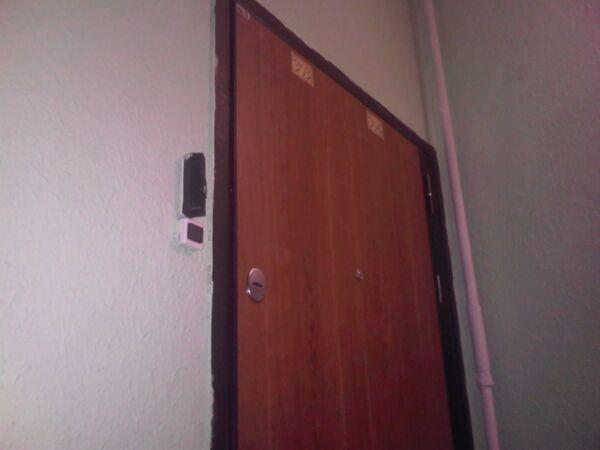 Дверь квартиры матери Чичваркина