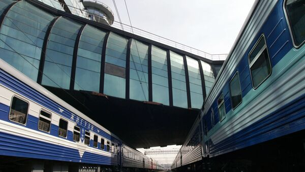 1871379cbd96 Около 100 человек эвакуировали на ж/д вокзале в Самаре - РИА Новости ...