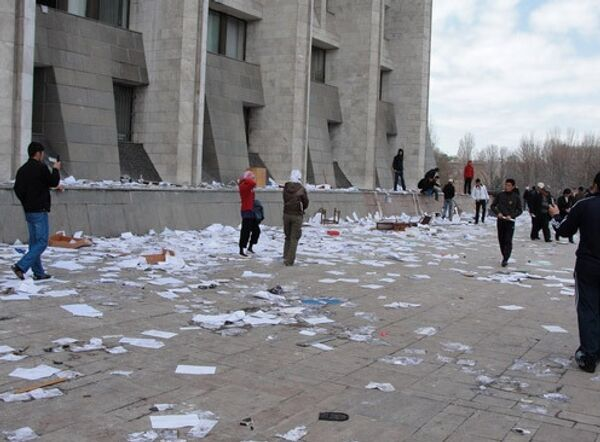Беспрядки в Киргизии. Архив