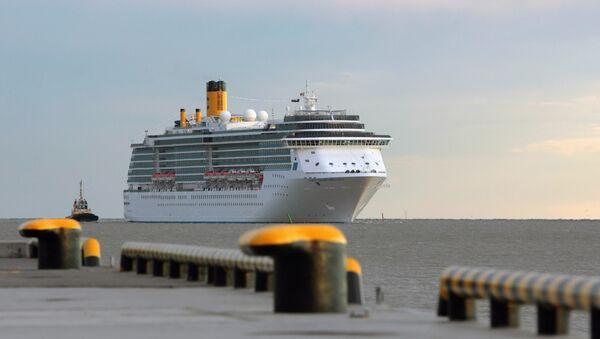 Новый морской пассажирский порт Санкт-Петербурга