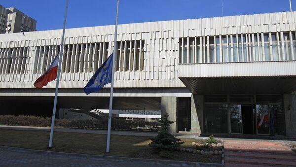 Посольство Польши в Москве. Архивное фото
