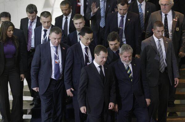 Саммит БРИК
