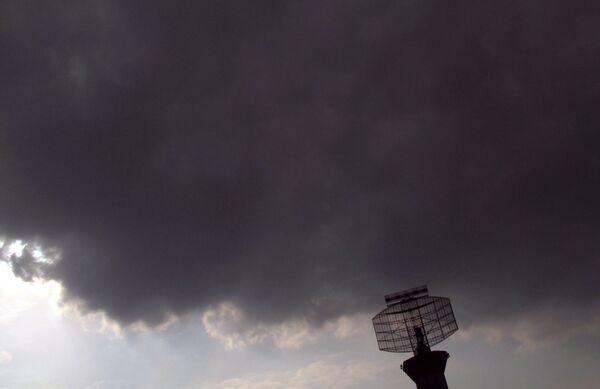 Радар лондонского аэропорта