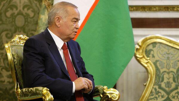 Ислам Каримов в Кремле