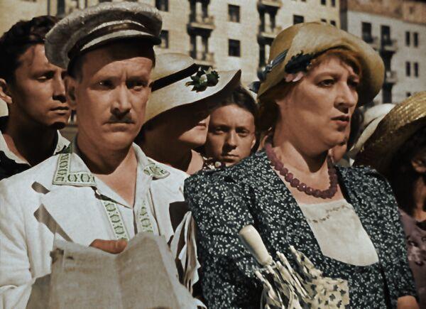 Цветная версия легендарной советской комедии 1939 года Подкидыш