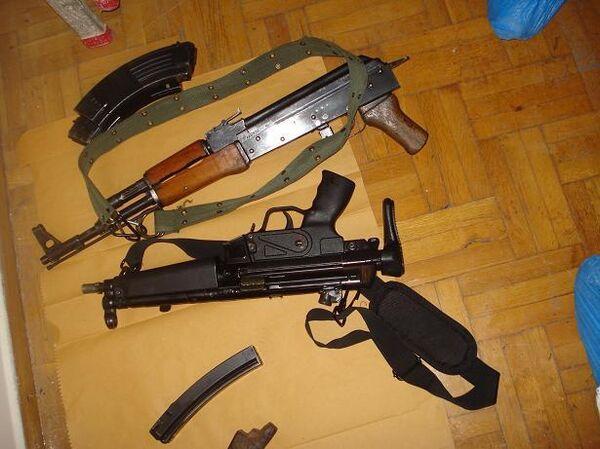 Греческая полиция нашла арсенал террористической группировки Революционная борьба