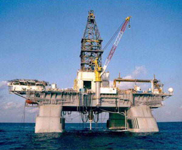 Буровая установка Deepwater Horizon в США