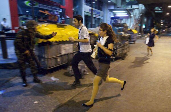 Серия взрывов в деловом центре Бангкока