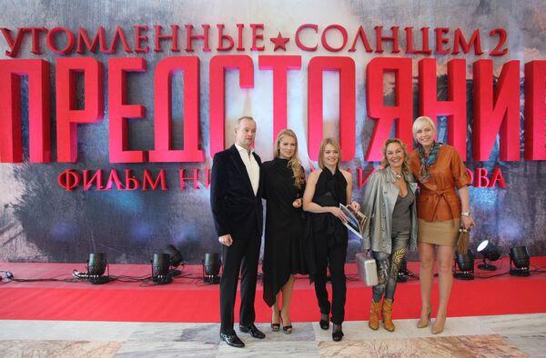 Премьера фильма режиссера Никиты Михалкова Утомленные солнцем-2: Предстояние