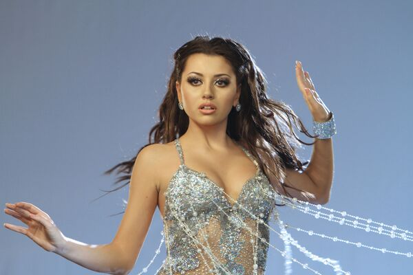 Съемки клипа песни Сафуры Ализаде для Евровидения-2010