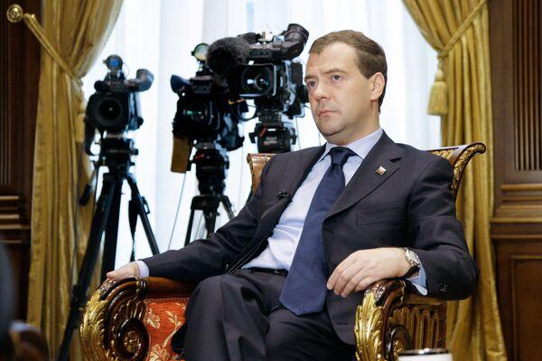 Медведев считает стабильной текущую политическую ситуацию в России