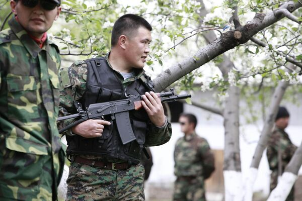 События в Киргзии. Апрель 2010 года