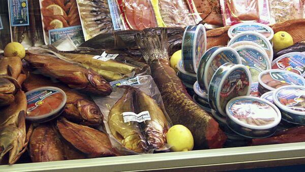Рыбная продукция. Архивное фото