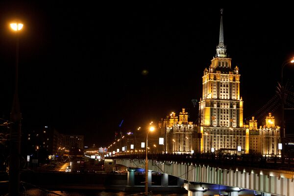 Здание гостиницы Украина