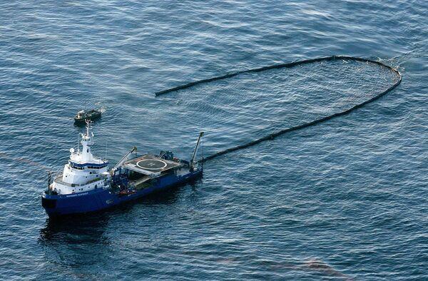 Нефтяное пятно в Мексиканском заливе