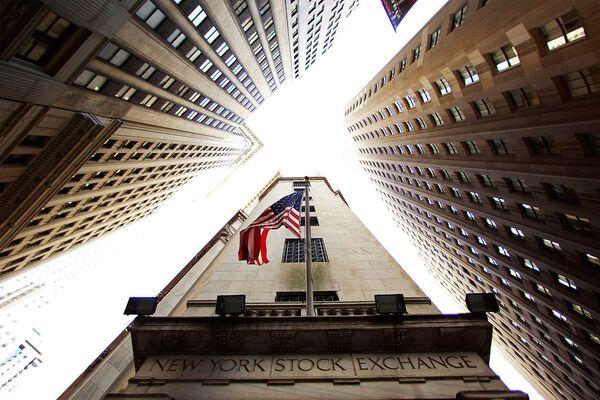 Биржи США закрылись спадом на опасениях за европейский финсектор
