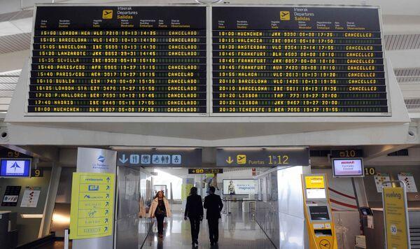Аэропорт Испании. Архив