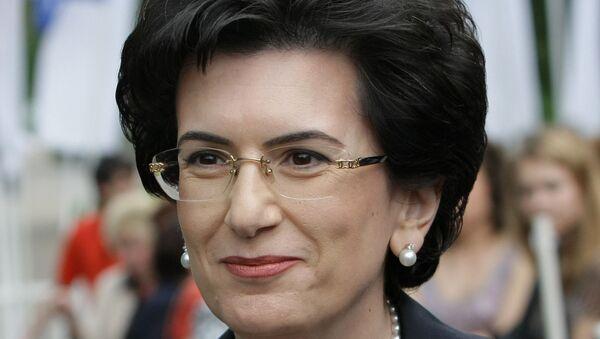 Одна из лидеров грузинской оппозиции Нино Бурджанадзе. Архив