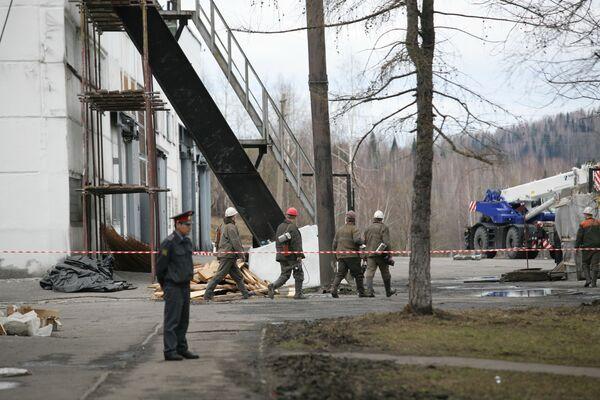 Взрывы на шахте Распадская в Кемеровской области