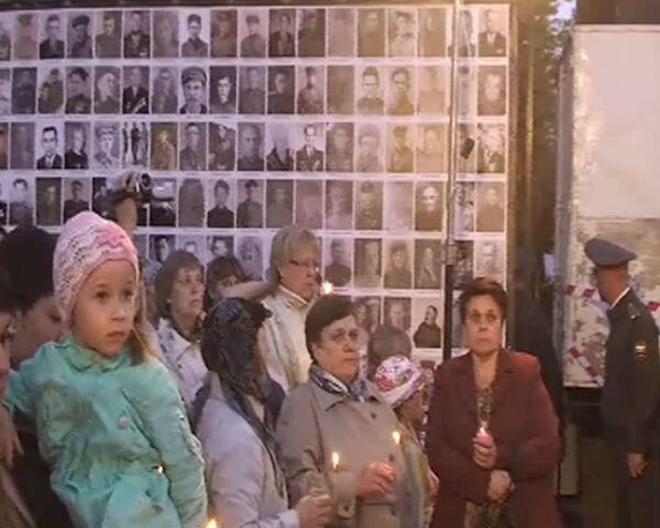 На Стене Памяти в Челябинске разместили 50 тысяч фото героев войны