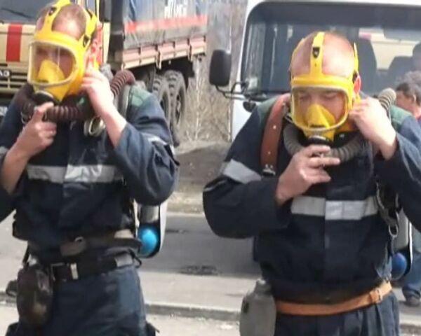 Спасатели пытаются пробиться в шахту Распадская где находятся люди