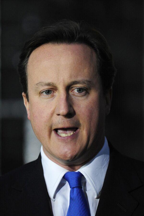 Лидер Консервативной партии Великобритании Дэвид Кэмерон стал новым премьер-министром страны
