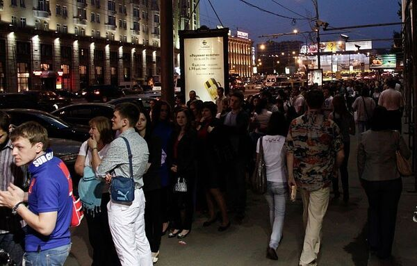 Ночь музеев в Москве. Архив