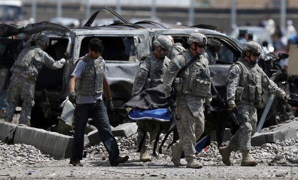 Шесть военнослужащих НАТО погибли во вторник в теракте в Кабуле