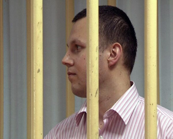 Захаркин был невозмутим во время оглашения приговора