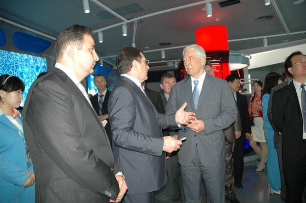 Председатель Государственный Думы Федерального собрания РФ Борис Грызлов посетил Павильон России на ЭКСПО-2010 в Шанхае