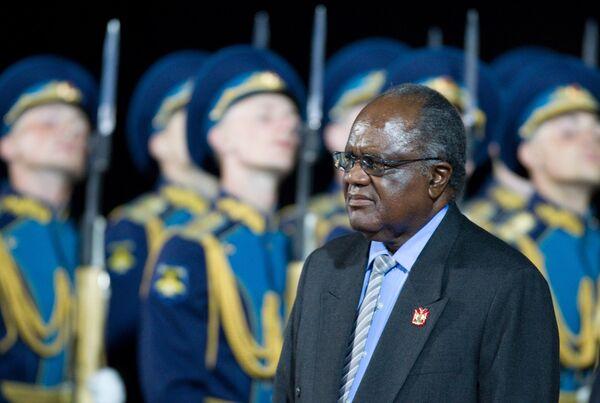 Президент Намибии Хификепунье Похамба прибыл в Москву с официальным визитом
