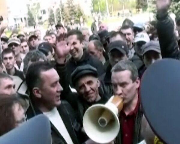 Вместо митинга в Междуреченске прошла спартакиада