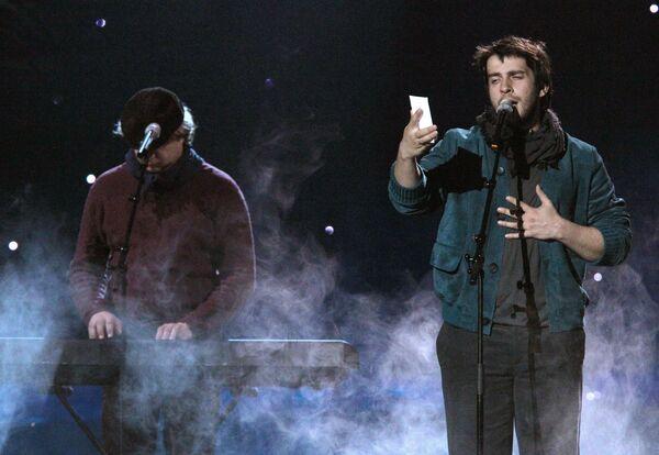 Репетиции участников конкурса Евровидение-2010 в Осло, Петр Налич
