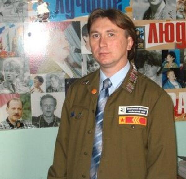Руководитель Молодежного общероссийского общественного движения «Российские студенческие отряды» Павел Богатеев.