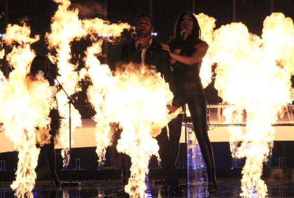 Репетиция второго полуфинала конкурса Евровидение-2010