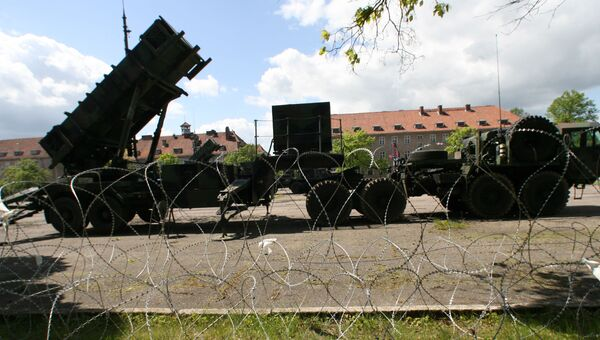 Американские ракеты Patriot в Польше