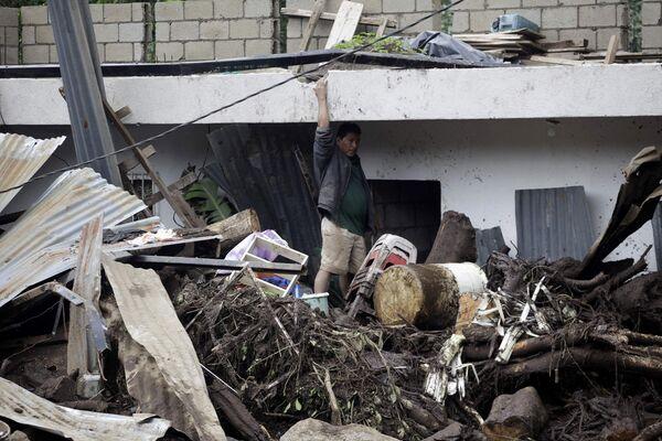 Последствия шторма Агата в Гватемале