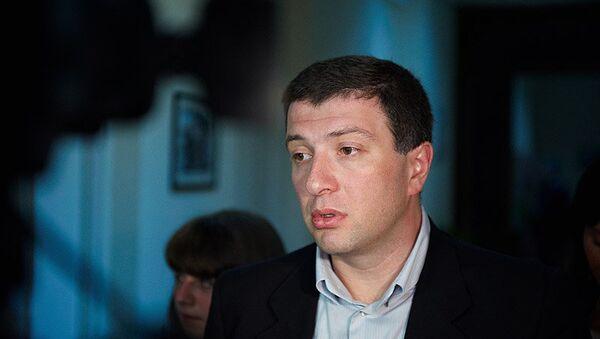 Представитель правящей партии Единое национальное движение Гиги Угулава
