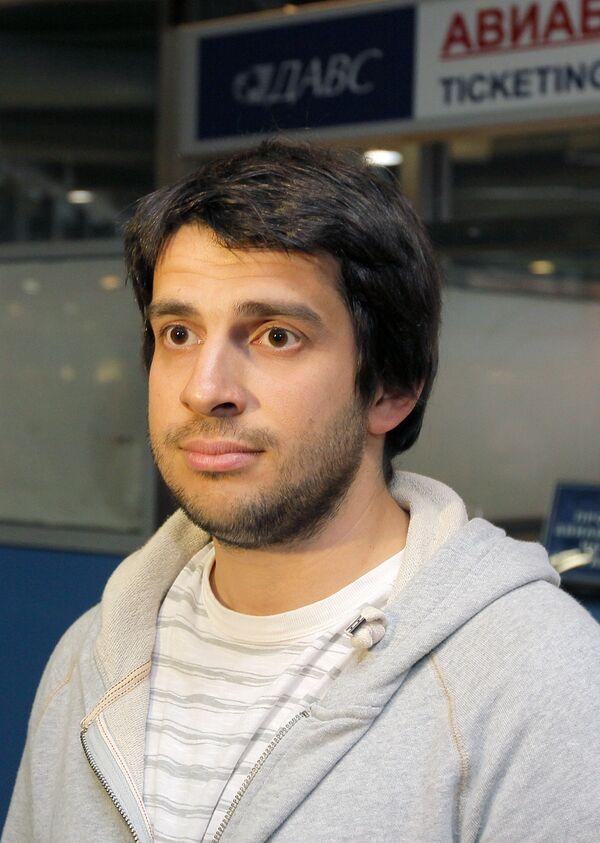 Встреча участника Евровидения-2010 Петра Налича в Москве
