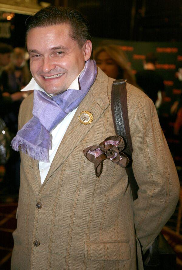 Историк моды Александр Васильев
